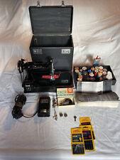 New ListingVintage Singer Electric Portable Sewing Machine Model 221-1. Circa 1946.