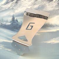 GENUINE GRETSCH ELECTROMATIC HOLLOWBODY GUITAR TAILPIECE ~ CHROME ~ NEW!