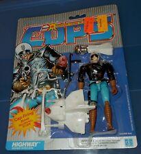 Cops 'N Crooks C.O.P.S. HIGHWAY new figure MOC Hasbro
