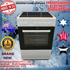 Eurotag 60cm Freestanding Electric Oven + Ceramic Cooktop STOVE RRP$999.00