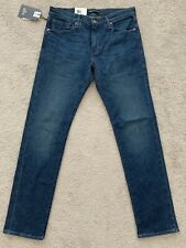 LEVIS MADE AND CRAFTED LMC 511 SELVEDGE MARFA 32X32 BRAND NEW