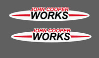 Mini Cooper John Cooper Works graphics decal JCW 2