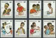 Timbres Enfance Rwanda 984/91 ** lot 26313