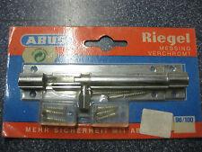 1 Abus Riegel 96 / 100 original  eingeschweißt 10 cm breit