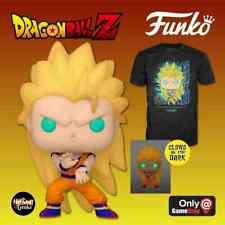 Pop! And Tee: Dragon Ball Z Super Saiyan 3 Goku Glow In The Dark Size X-Large