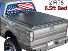 Premium Roll Up Tonneau Truck Bed Cover 14-18 Chevy Silverado GMC Sierra 6.5 FT