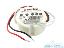 Transformador Led 15W rendondo 12V/dcfuer luces LED an 230 voltios 15 vatios