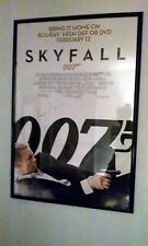 James Bond 007 Skyfall One Sheet Poster Signed Autographed by Naomie Harris