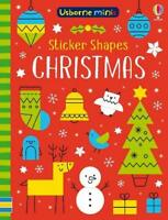 Sticker Shapes Christmas (Usborne Mini Books) by Sam Smith Book The Fast Free