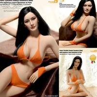 1/6 Super-Flexible Female Seamless Body Figure S07 w/Head 12'' Hot Toys Gift