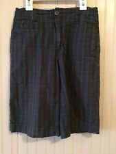 Mossimo Supply Co.  Kids Shorts Plaid Flat Front Multi-Color Size 12