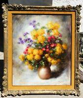 Paul Sorel, oil/canvas 24 x 29 listed artist, vintage frame