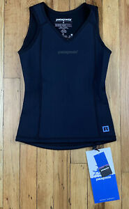 Womens W Patagonia R1 Back Wetsuit Vest Size 4 BNWT