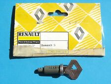 Renault 5 , R5 Alpine Turbo , serrure barillet bouton de coffre hayon 7701349124