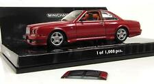 MINICHAMPS 1:43 BENTLEY CONTINENTAL SC 1996 METALLIC RED