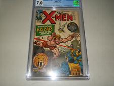 X-Men #10 CGC 7.0 - Off White - 1st Silver Age Ka-Zar 3/65