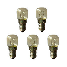 5 x 15W Himalayan salt lamp globe bulbs SES E14
