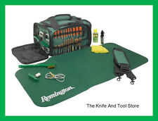 Remington Squeeg-E Universal Gun Cleaning System with Green Carry Case/RE17096