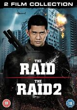 THE RAID / THE RAID 2 - BOXSET - NEW / SEALED DVD