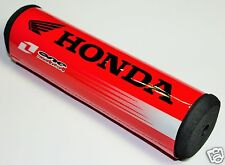 HONDA BLACK 7/8 HANDLEBARS CROSS BAR PAD DIRT BIKE PIT BIKE MOTOCROSS MOTO. USA!