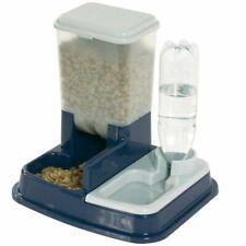FLAMINGO Dispensador de Comida y Agua para Mascotas Modelo Duo Max Azul 5344046