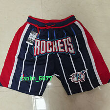 Houston Rockets Shorts Embroidered