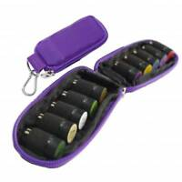 Essential Oils Carry Case Holder Storage Travel Pouch Bag For 2mL 10 Bottles