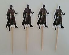 BATMAN CUPCAKE TOPPERS 48 PACK / PARTY / BIRTHDAY SUPERHERO AVENGERS