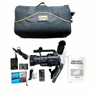 Panasonic AG-DVC80 Leica Digital Camcorder Mini DV Works W/ Petrol Bag & Remote
