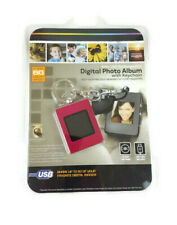 Digital Photo Album With Keychain 8Mb/USB Rechargeable - NEW - 60 Images