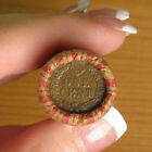 ONE UNOPENED INDIAN HEAD CENT WHEAT PENNY SHOTGUN ROLL FROM ESTATE .. R2