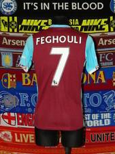 5/5 West Ham United adults S MINT #7 Feghouli 2016 football shirt jersey trikot