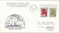 Canada   1984   Bundesmarine  German Navy  Lutjens D-185  FMO Halifax NS   Cover