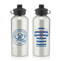 Personalised Queens Park Ranger Football Club FC Sports Water Bottle Sport QPR