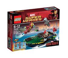 Lego Marvel Super Heroes Iron Man metòdico-speedboot-uso (76006)