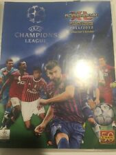 Panini Adrenalyn Xl Champions League Football Cards 2011/12 Collection + Folder
