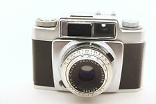 AGFA Silette SL 35MM CAMERA with Color Solinar 1:2.8/50 Lens AND Leather CASE