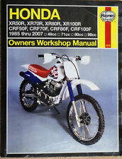 HONDA XR50R MOTORBIKE OWNERS WORKSHOP MANUAL HAYNES 2218