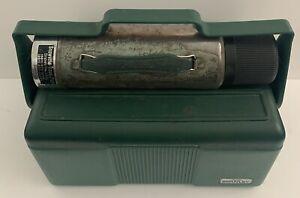 Aladdin Stanley Heritage 7Qt Green Lunchbox & Thermos Set 7.7 L Original Owner