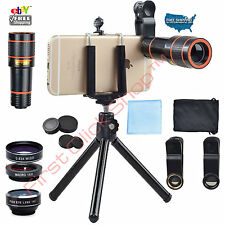 Phone Camera Lens Telephoto Zoom Tripod Holder Set For Best Photos Smart Phones