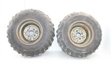 1999 Yamaha Wolverine 350 4x4 Rear Wheel Set Rims Tires