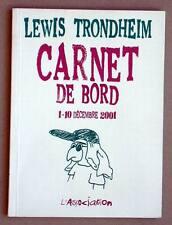 TRONDHEIM - CARNET DE BORD tome 1 EO neuf