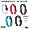 Cinturino di ricambio fascia bracciale per FITBIT ALTA / HR wrist band silicone