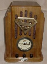 Superman Collectors Edition Nostalgic Radio Vintage 1998 Handcrafted Wood MIB