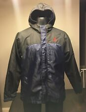 Boy's U.S. Polo Assn Fleece Lined Hooded Jacket Size Lg 14/16 Great Condition!