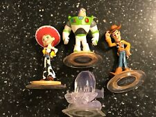 4 Disney Infinity TOY STORY SET FIGURES BUZZ LIGHTYEAR +WOODY +JESSIE +CRYSTAL