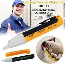 LED TESTER LIGHT AC ELECTRIC VOLTAGE VOLT ALERT PEN DETECTOR SENSOR 90~1000V BE