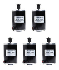Five (5) 150W 24 or 12 V Dc electric brush motor f scooter project Diy 3M Belt