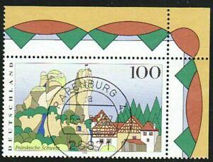 DEUTSCHLAND Bund 1995 BRD M 1807 Schweiz Eckrand zentrischer Ersttag Poststempel