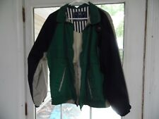 Members only men's size L multi-color polyester spring/fall jacket
